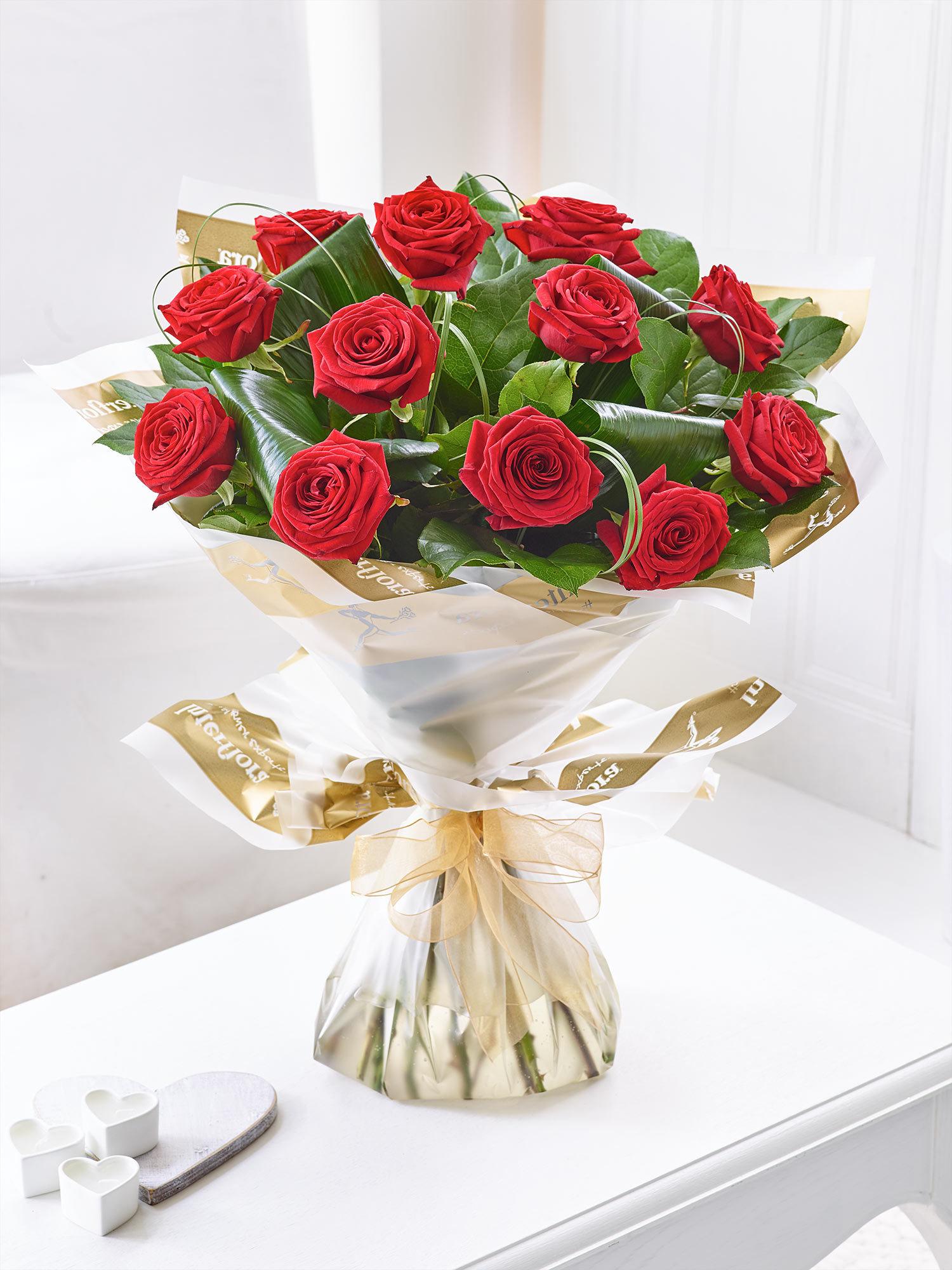 luxury long stem roses